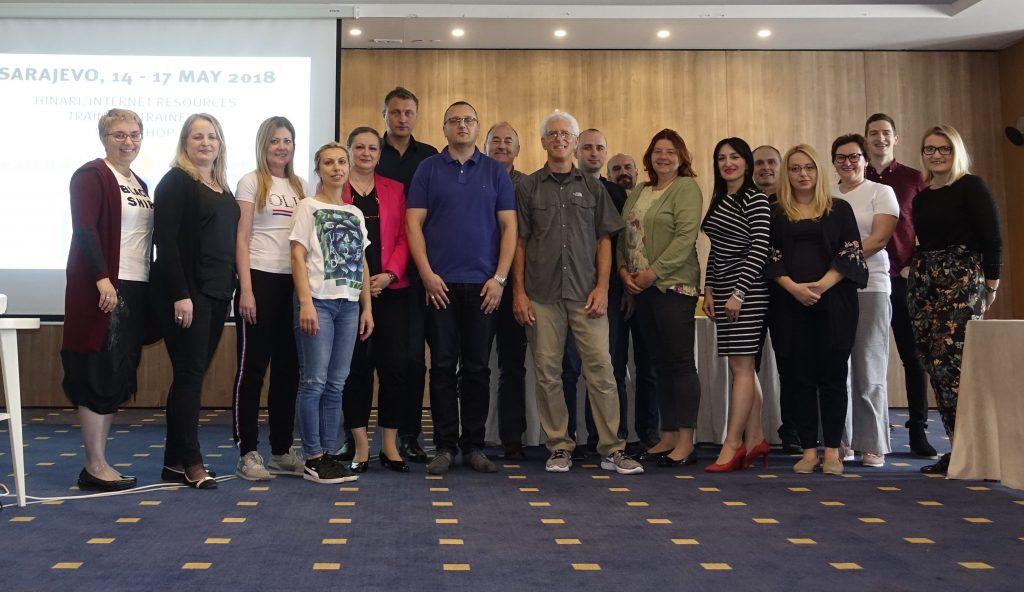 Hinari/Internet Resources 'Train the Trainers' Workshop in Sarajevo
