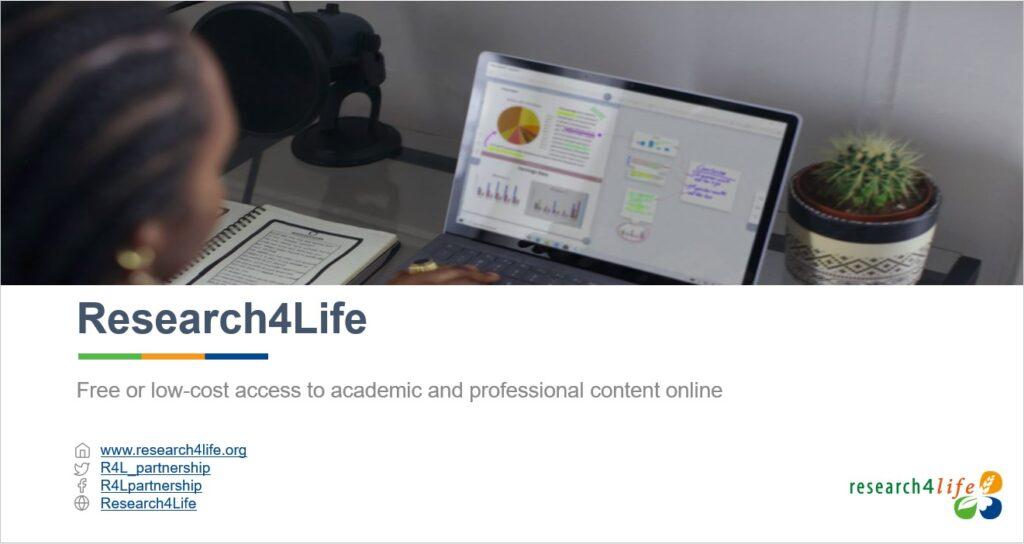 Research4Life presentation